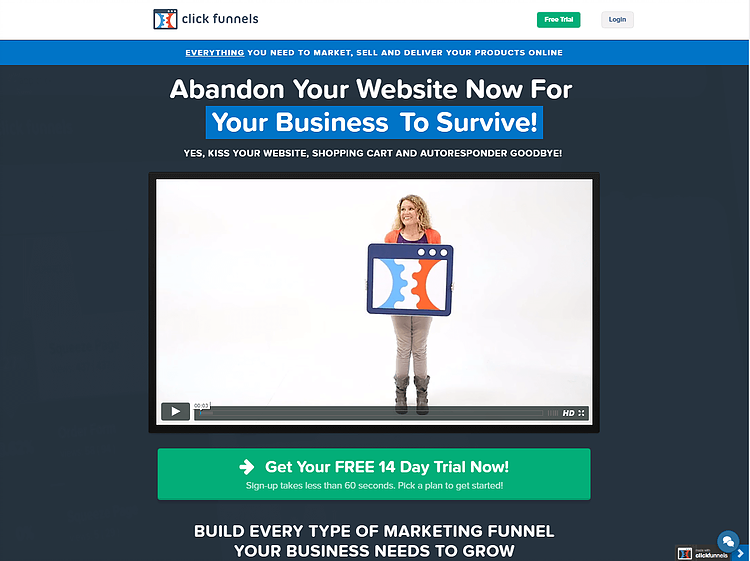 Clickfunnels 60 Day Trial Things To Know Before You Buy